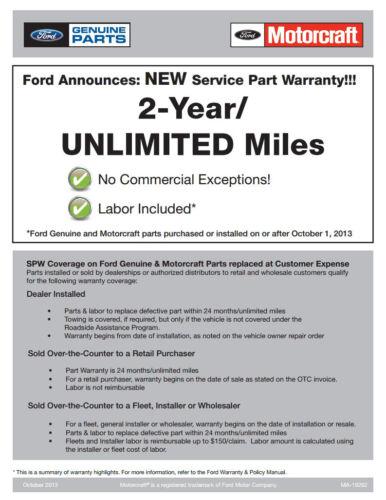 OEM NEW 2008-2018 Ford Super Duty RH Side Windshield Wiper Arm 9C3Z17526B Spring
