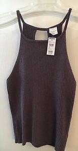 8dfc8fe7a05b0 Essentials Full Tilt By Tillys~ Sweater Halter Tank Top ~Purple~Size ...