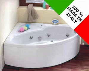 Vasca Da Bagno Ad Angolo : Vasca da bagno non idromassaggio ad angolo cm asimmetrica