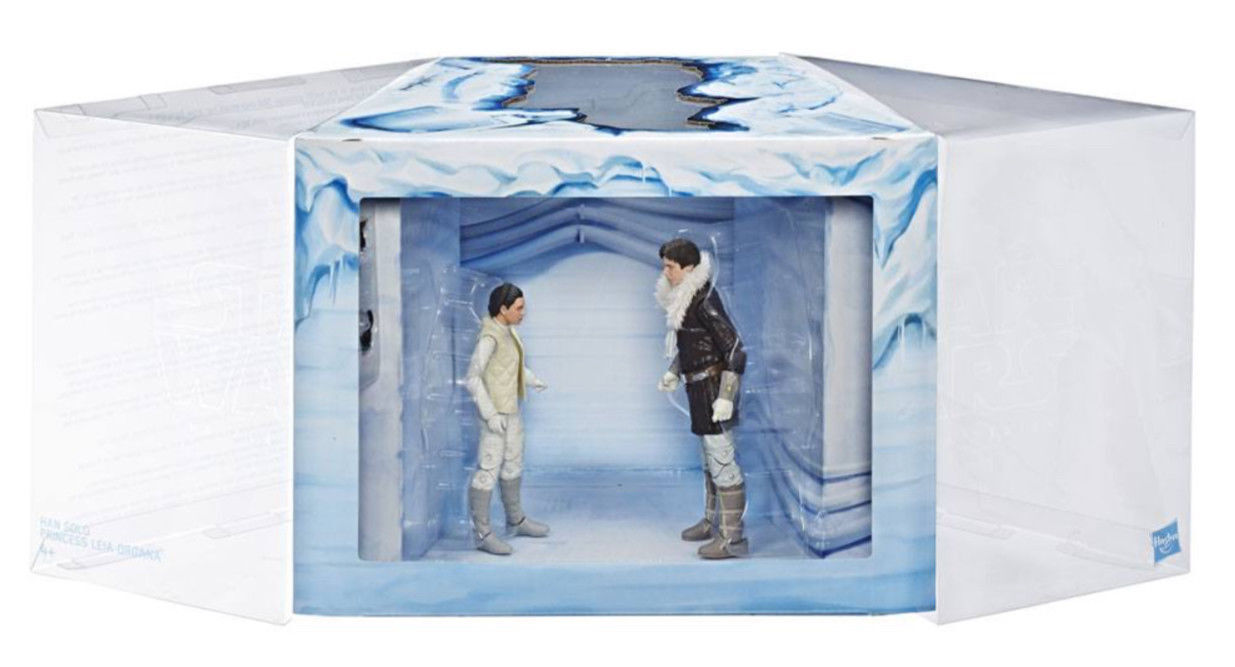 Star Wars The schwarz Series Leia & Han Hoth Exclusive 6-Inch 2 pack- New in stock