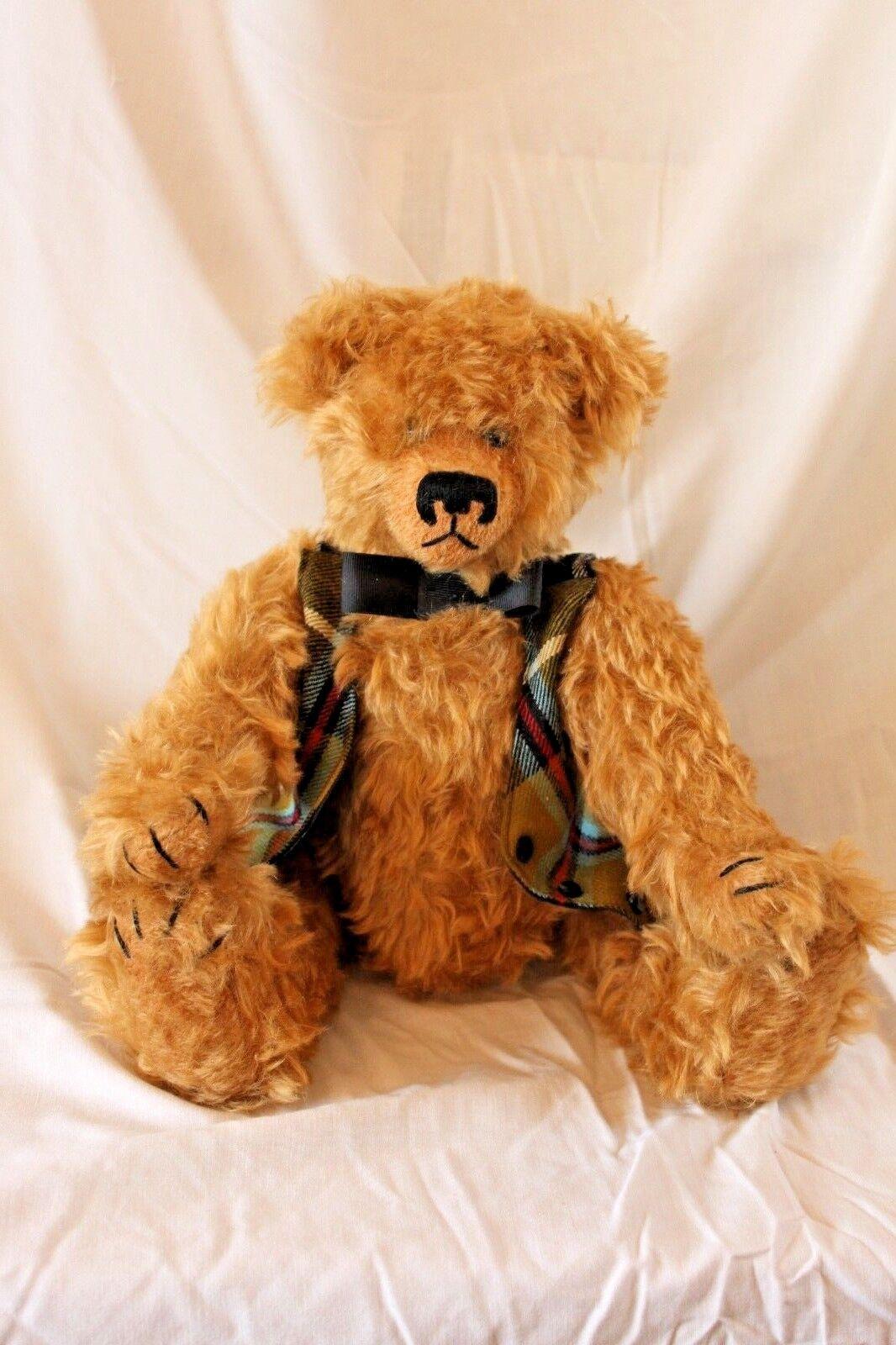Celtic ARTISTA TEDDY BEAR  - trelawney  DA COLLEZIONE LIMITED EDITION 1 solo mai realizzato