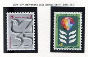 19314-UNITED-NATIONS-Vienna-1980-MNH-35-Years-UNO
