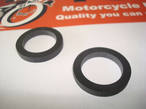 70-1496 TRIUMPH MOTORCYCLE SEAL EARLY PUSH ROD TUBE 2PC