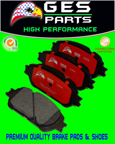 Front Brake Pads For 02-06 ES300 04-10 Toyota Sienna Avalon 05-06 Camry D906