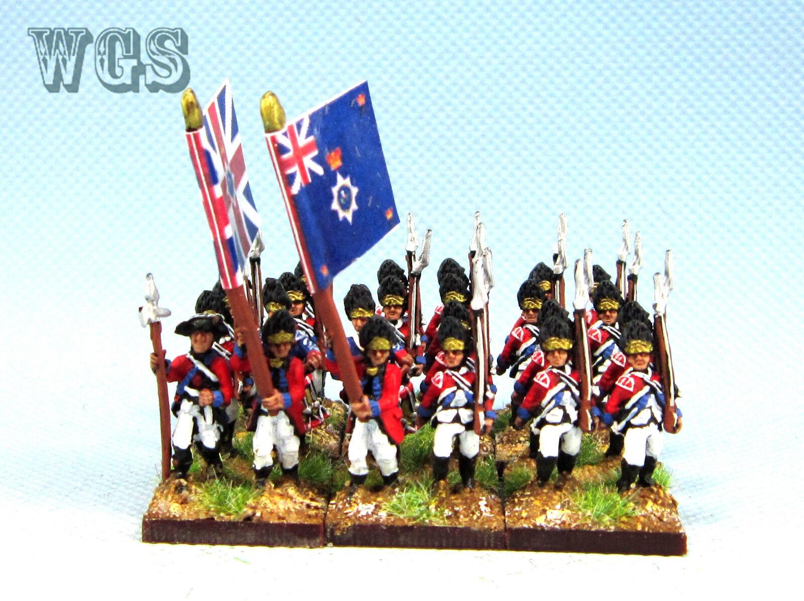 15mm Guerra de Independencia Americana un Pintado británico Granadero AWB1