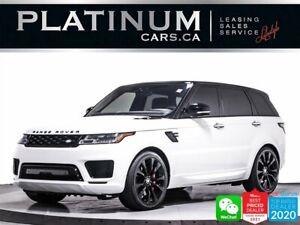 2019 Land Rover Range Rover Sport HST MHEV, BLACK OUT PKG, NAV, PADDLE SHIFTERS