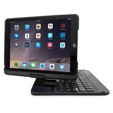 "iPad Pro Apple Case 12.9"" Tablet 360° Bluetooth keyboard Protective Black Cover"
