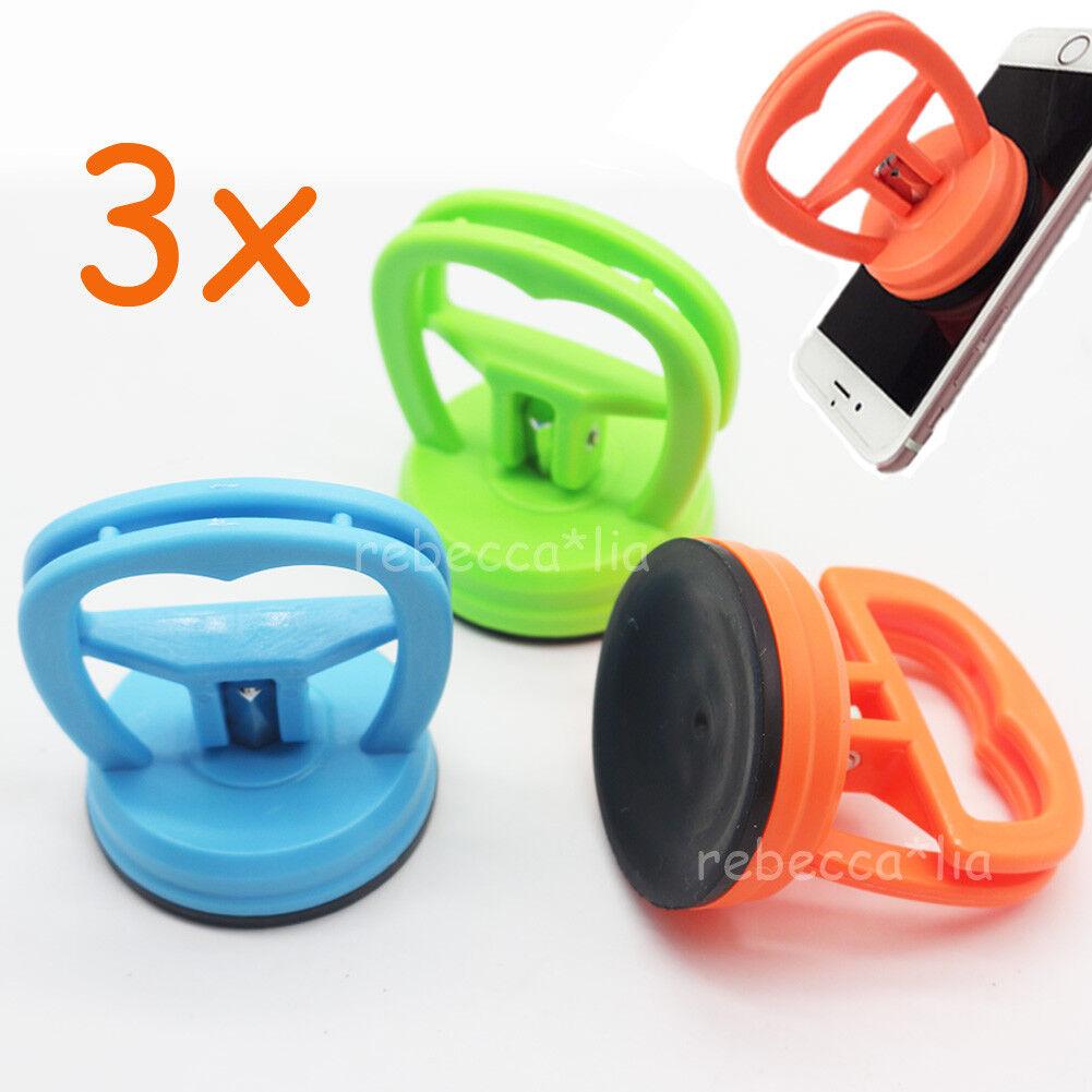 Smartfox Einhand Mini Saugnapf Glasheber 55mm in orange