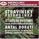 Igor Stravinsky - Stravinsky: Petrouchka (Complete); Le Sacre du Printemps (1993)