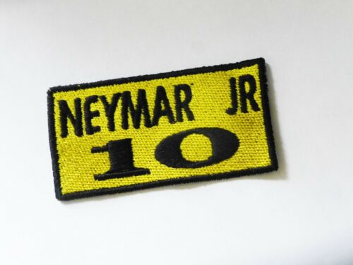 Ecusson patch football NEYMAR JR 10 thermocollant