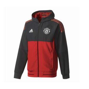 Dettagli su Adidas MUFC EU PRE JKT GIACCA MANCHESTER UNITED art. BS4307
