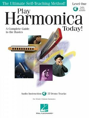 Wind & Woodwinds Disciplined Play Harmonica Today Level 1 Instructional Book And Audio New 000700179 Invigorating Blood Circulation And Stopping Pains