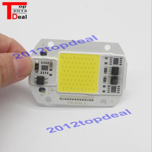 50W LEDs Floodlights COB Chip 110V 220V Input Integrated Smart IC Driver