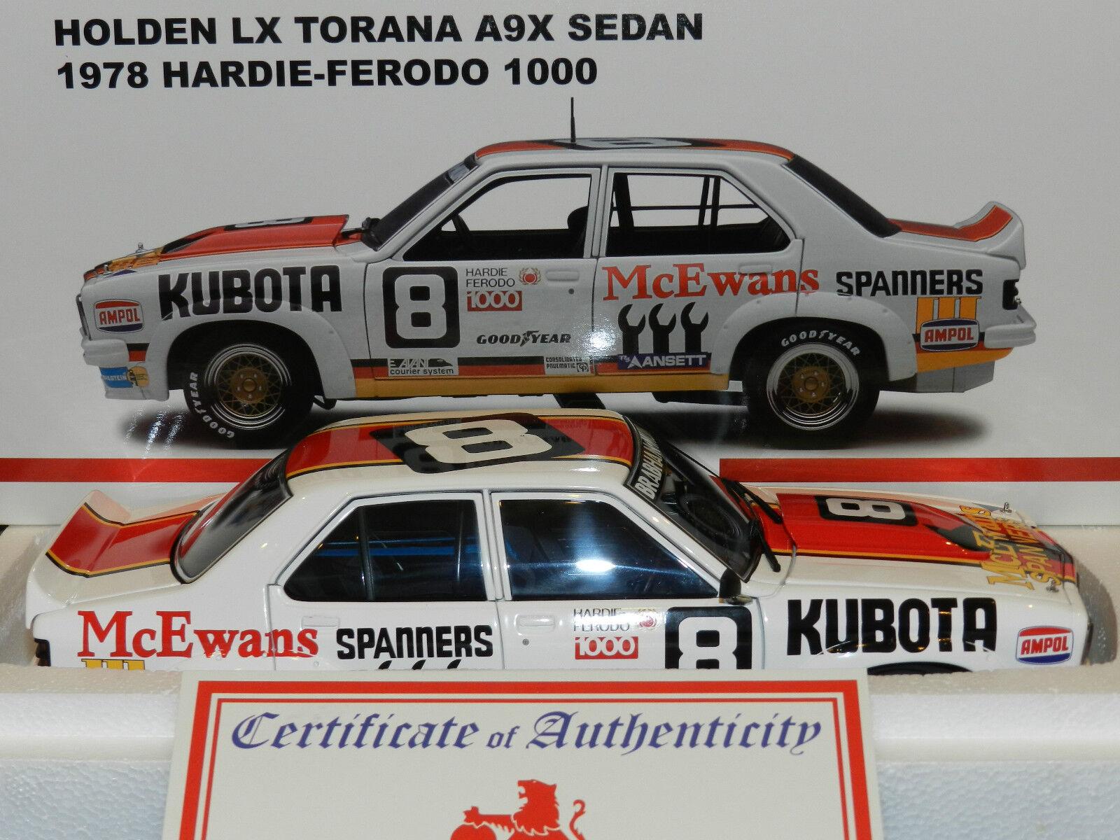 Biante 1 18 Holden Torana LX A9X Bathurst 1978 Brabham Muir MiB