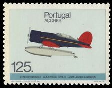 "AZORES 369 - Aviation History ""Lockheed Sirius Seaplane, 1933"" (pa84762)"
