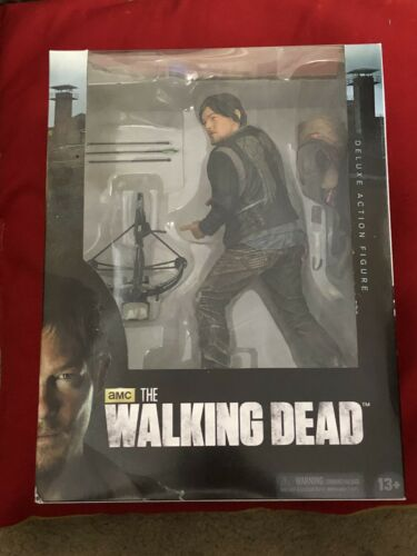 """2013 McFarlane Toys The Walking Dead 10/"""" Daryl Dixon Deluxe Action Figure B"""