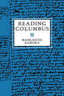 Reading Columbus by Margarita Zamora (Paperback, 1993)