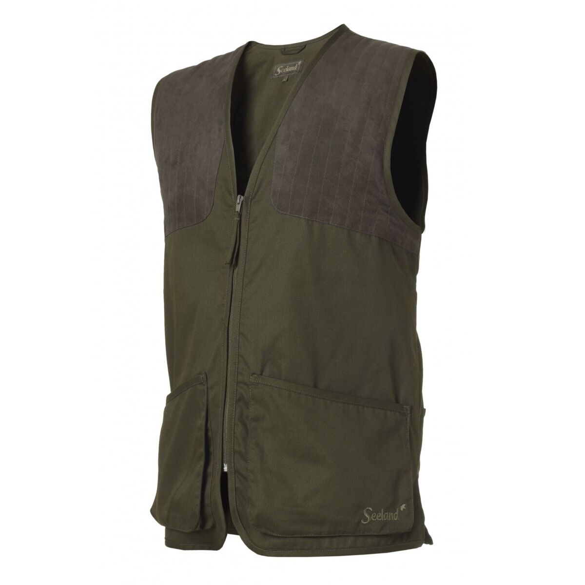 Seeland Weston Club Waistcoat - Pine Green - Sizes  S-4XL (Skeet Hunting)