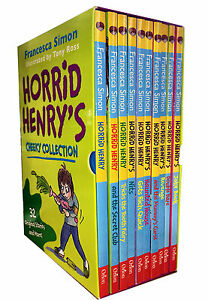 Horrid-Henry-Cheeky-Collection-10-Books-Box-Set