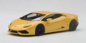 Lamborghini Huracan Lp610-4 2014 Métallique Perle Jaune Jaune Midas 1:43 Modèle