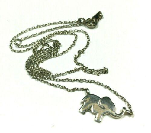 ++ Vintage 925 Sterling Silver Necklace Charm Pendant Tiny Genuine Rose Rosebud in Resin