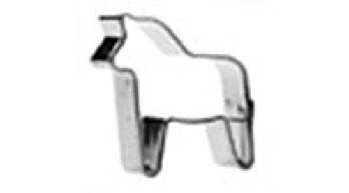 Cookie//Biscuit Cutter cheval s//s 4 cm/&1.5cm profonde qualité garantie