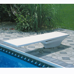 Sr Smith Flyte Deck Ii Stand And 8 39 Fiber Swimming Pool Diving Board Combination Ebay