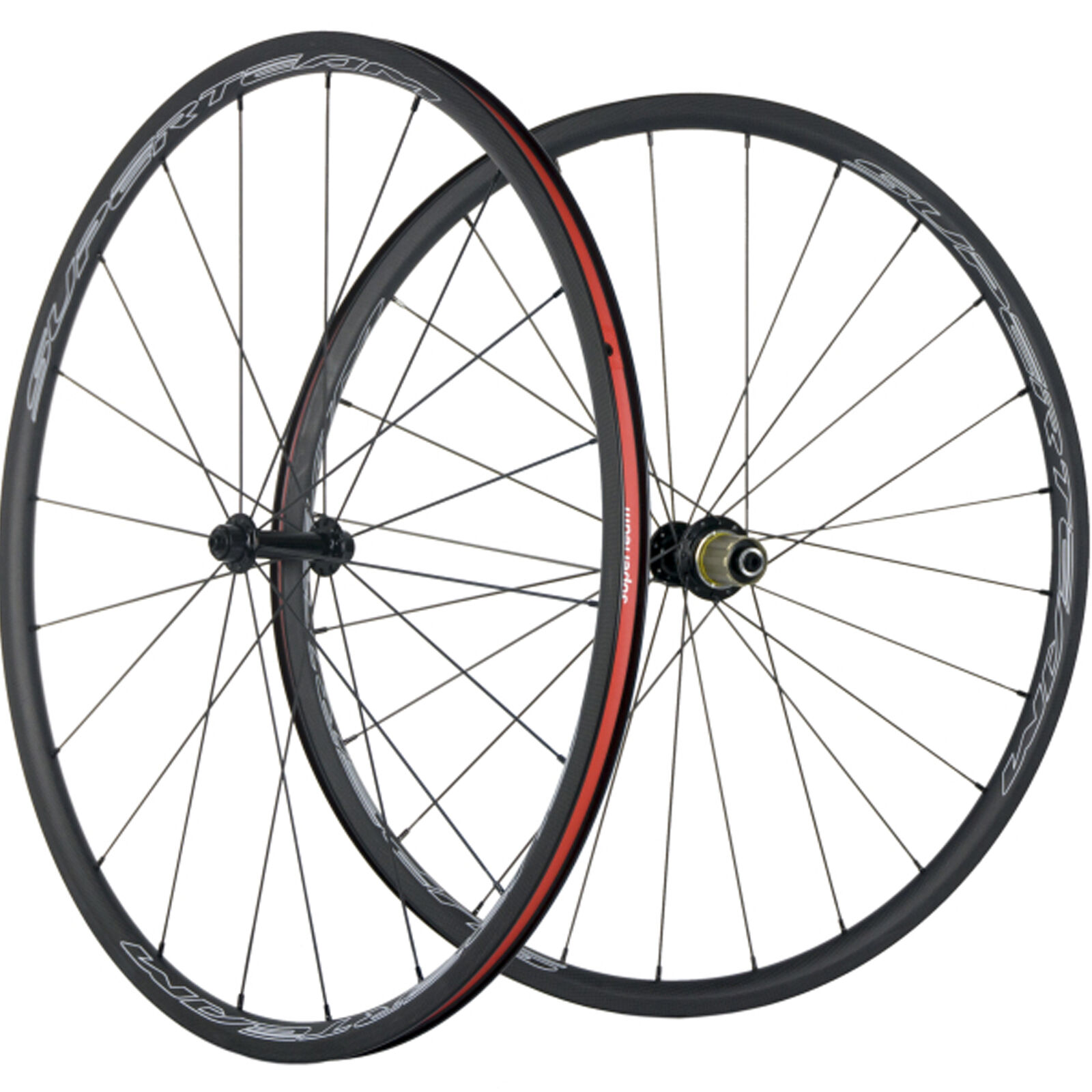 SUPERTEAM 24mm Depth Carbon Road Wheelset Clincher R13 Cycling Carbon Wheels