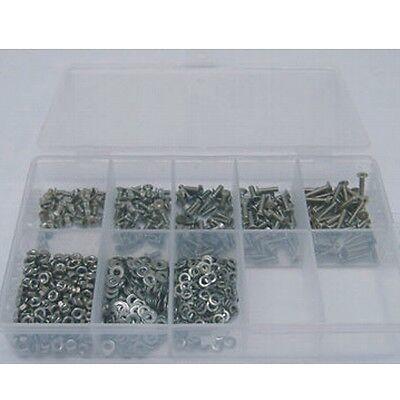 M2 Senkschrauben Set DIN 965 TORX 800 Teile rostfrei A2 versandkostenfrei
