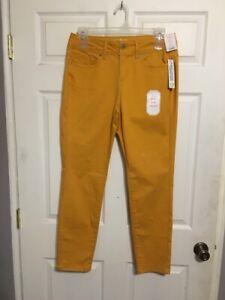 No-Boundaries-Yellow-Super-Soft-Mid-Rise-Skinny-Jeans-Juniors-15-NWT