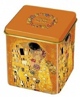 Teedose Metall Gustav Klimt *Der Kuss*
