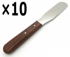 10 Plaster Alignate Spatula 1022 4 Wax Modeling Carver Dental Mixing Tools