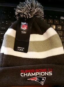fe0d21c02df97 New England Patriots NFL  47 Cuffed Knit Hat Cap Super Bowl ...