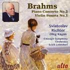 Klavierkonzert op.83/Violinsonate op.78 von Leinsdorf,Richter,Chicago Symphony Orchestra,Kagan (2014)