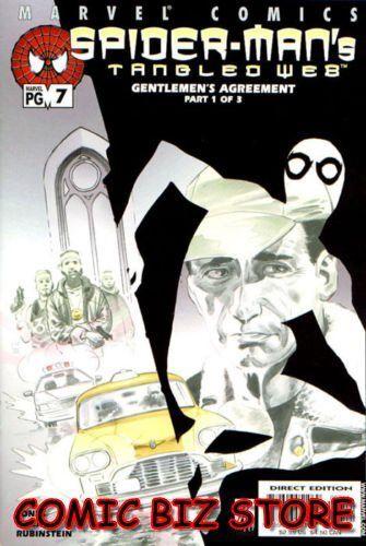 SPIDER-MAN/'S TANGLED WEB #7 1ST PRINT BAG /& BOARDED MARVEL COMICS 2001