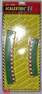 Responsible Scalextric 8796 Kante Überhaltige Kurve 4unidades Außen+4unidades Innen- Elektrisches Spielzeug Kinderrennbahnen