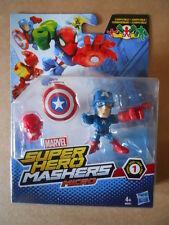 MARVEL SUPER HERO MASHERS MICRO HASBRO CAPITAN AMERICA     [MV0]