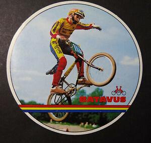 Fan-Aufkleber Batavus BMX Wheel Bicycle Motocross 80er Vintage USA