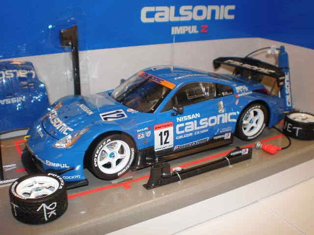 Hotworks Racing - 1 24 Nissan Z33 CALSONIC'04 Bleu-MS-052404B   trouvez votre favori ici