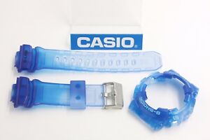CASIO-G-Shock-GAX-100MSA-2-G-Lide-Jelly-Blue-X-Large-BAND-amp-BEZEL-Combo-GAX-100