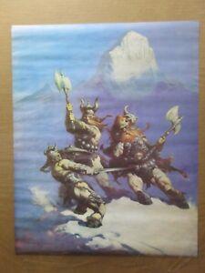 Vintage-Poster-Vikings-warriors-1970-039-s-Inv-G3359