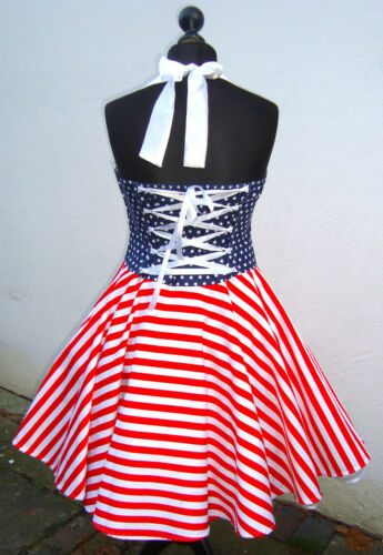 50er,Petticoat,Rockabilly,Tanz,Stars,Sripes,Flagge,USA,Amerika,Pinup,Dress,Kleid