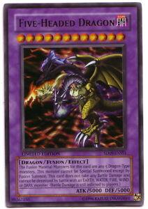 YUGIOH • Five headed Dragon Drago a 5 Teste • SD09-ENSS1 ULTRA RARA NM