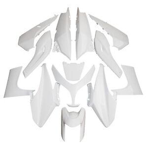 kit carrosserie car nage blanc 13 coques pi ces yamaha t max tmax 500 08 11 ebay. Black Bedroom Furniture Sets. Home Design Ideas