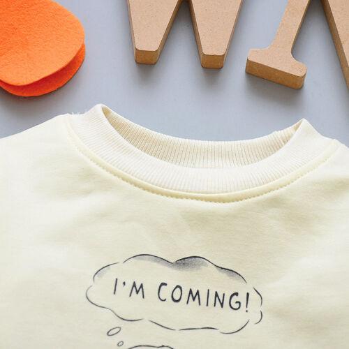 3pcs Toddler Baby Boys Girls Hooded Coat+T-Shirt+Pants Set Kids Outfits Dinosaur