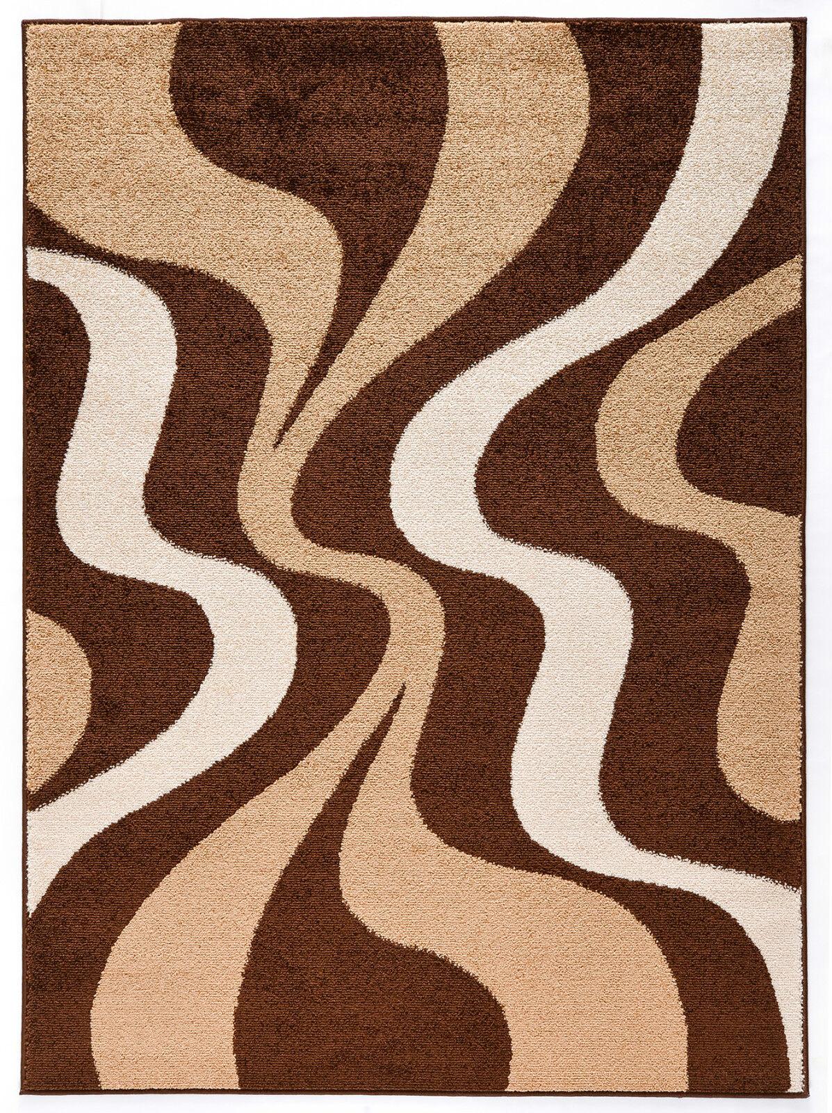 Billiger Moderner Brauner Teppich 80x150 120x170 140x190 160x230 160x230 160x230 200x290   1   Für Ihre Wahl  639171