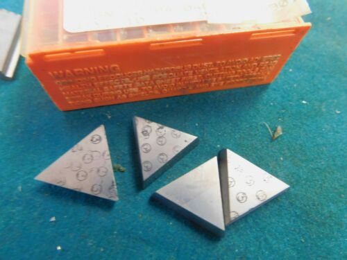 4 Carbaloy TPG 431 F 883 Carbide Inserts
