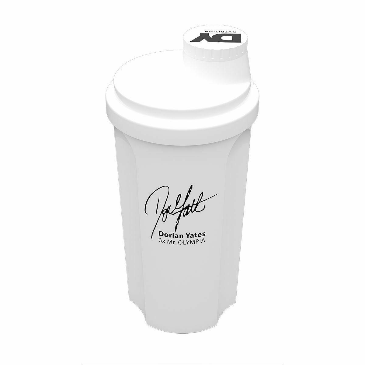 Image 5 - Dorian Yates Signature Shaker Cup DY Nutrition shaker 3 sided design in 2 colour