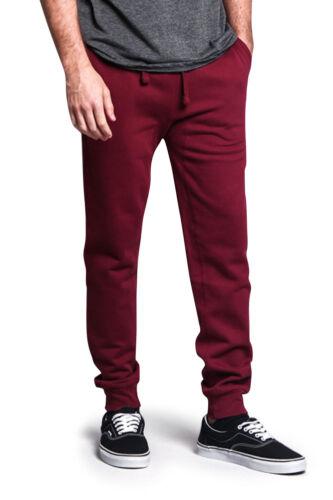 J14G Men/'s Premium Cotton Blend Workout Gym Fleece Sweatpants Joggers HJ-CH