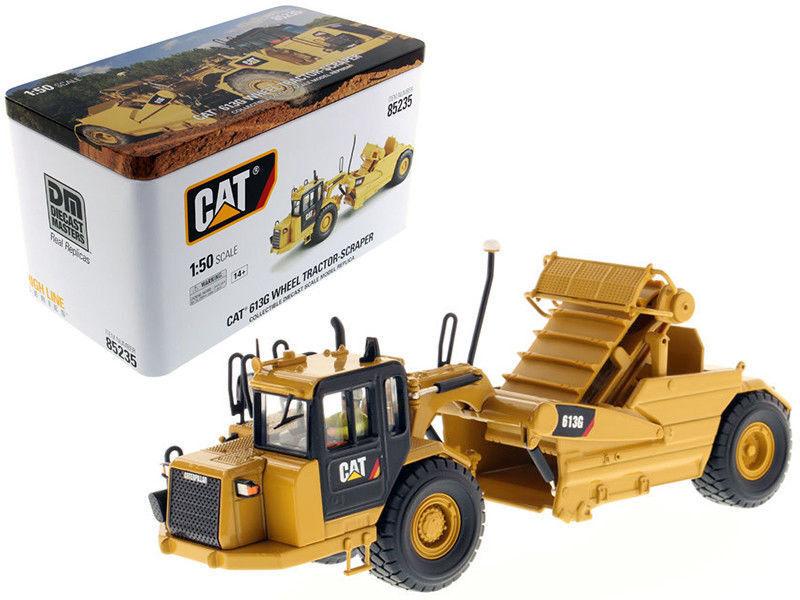 respuestas rápidas Caterpillar 1 50 Amarillo Amarillo Amarillo 613G rueda Raspador-HIGH LINE Serie Modelo de coche de ingeniería  orden ahora con gran descuento y entrega gratuita